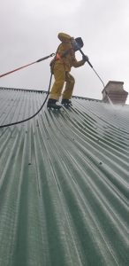 roof restoration Newport
